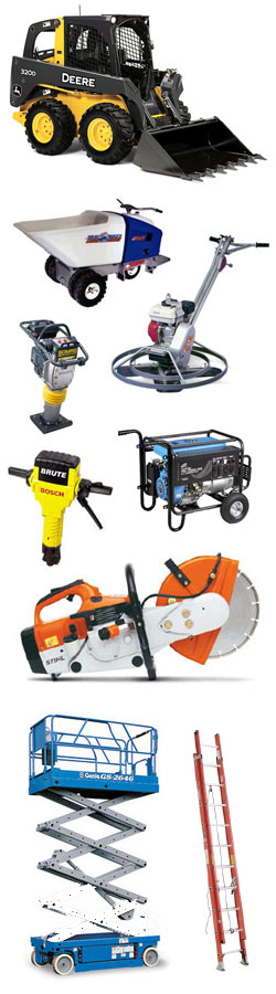 Equipment rentals in Prior Lake MN