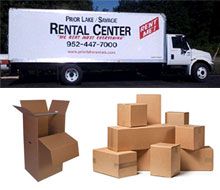 Moving Supplies in the Prior Lake & Savage MN area