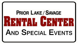Equipment Rentals & Sales in Prior Lake MN | Party Rentals in Savage MN, New Prague, Shakopee, Spring Lake MN
