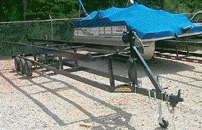 Where to find TRAILER, PONTOON 24  4500 LBS in Prior Lake