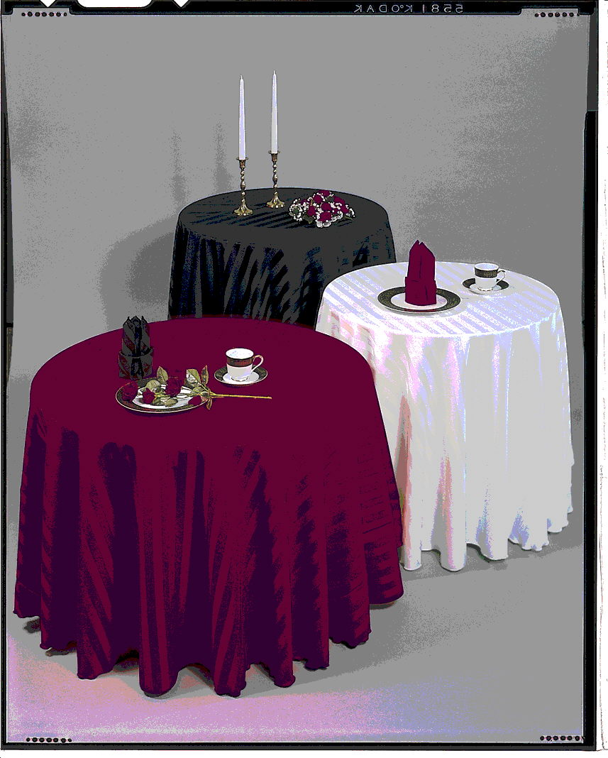 Where to find TABLECLOTH, ROUND 120  IVORY in Prior Lake