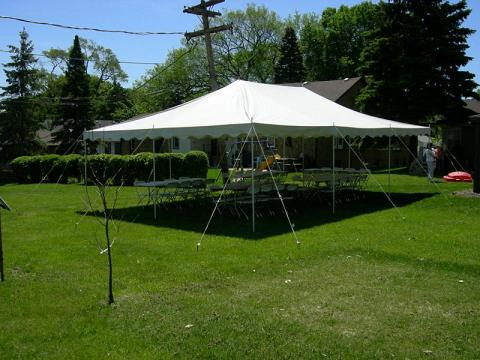 Where to rent TENT, 20  X 30  WHITE in Burnsville MN, Savage Minnesota and Prior Lake MN