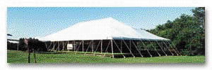 Where to rent TENT, 30 X105 WHITE INSTALLED in Burnsville MN, Savage Minnesota and Prior Lake MN