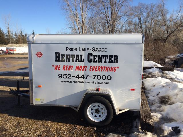 Where to find TRAILER, 5  X  8  VAN in Prior Lake