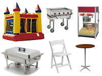 Equipment Rentals & Sales in Prior Lake MN | Party Rentals
